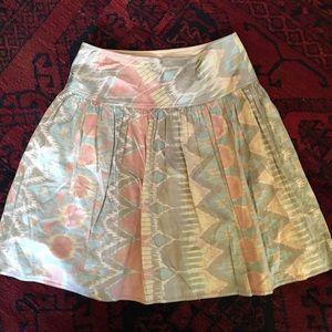 Silk southwest Skirt